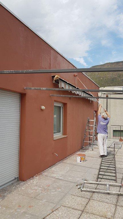 20170404 143309Medium 1 - Sanierung einer Wohnungsfassade, Mayr-Nusser-Str.