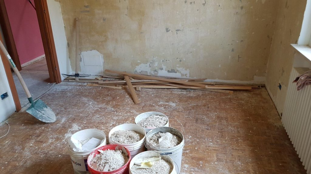 condominio ipes ristrutturazione20160630 151114Medium 1024x576 - Malerarbeiten und Fußböden, Eigentumswohnung Turinerstr.