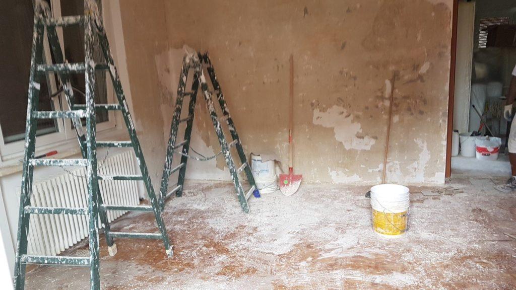 condominio ipes ristrutturazione20160630 152250Medium 1024x576 - Malerarbeiten und Fußböden, Eigentumswohnung Turinerstr.
