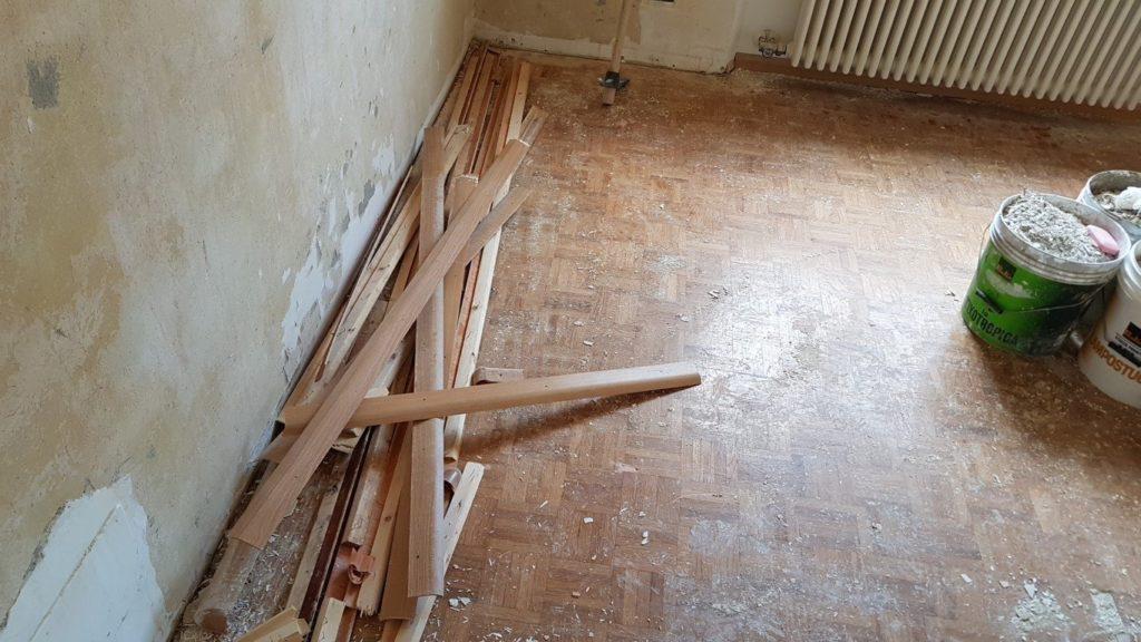condominio ipes ristrutturazione20160630 152301Medium 1024x576 - Malerarbeiten und Fußböden, Eigentumswohnung Turinerstr.