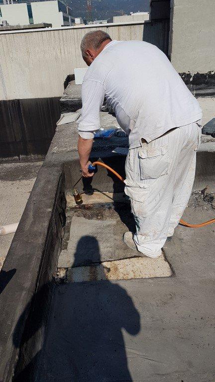 isolamento bolzano20160929 140235Medium - Isolamento soffitto Cantiere in Zona Industriale Bolzano