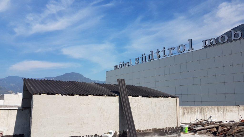 isolamento bolzano20160929 140241Medium 1024x576 - Isolamento soffitto Cantiere in Zona Industriale Bolzano