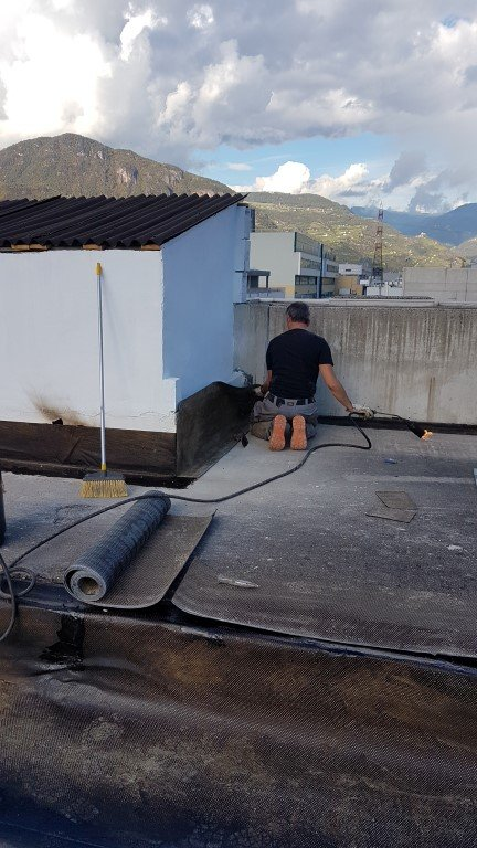 isolamento bolzano20161018 152305Medium - Isolamento soffitto Cantiere in Zona Industriale Bolzano