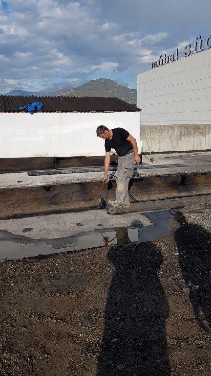 isolamento bolzano20161018 160738Medium - Isolamento soffitto Cantiere in Zona Industriale Bolzano