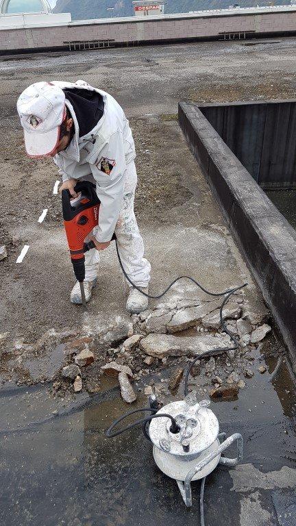isolamento bolzano20161019 103114Medium - Isolamento soffitto Cantiere in Zona Industriale Bolzano