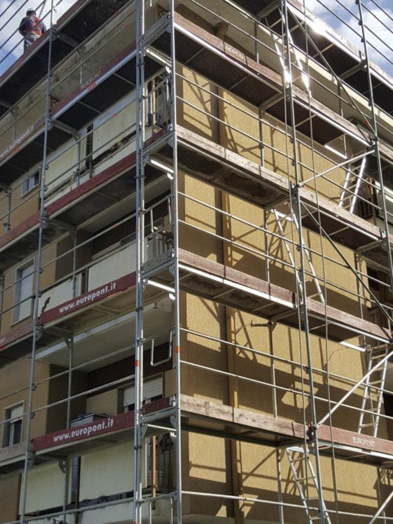 rifacimento parete esterna bolzano20160412 160741Medium 768x1024 - Rifacimento facciata esterna Cantiere Maso Della Pieve Condominio Ambra