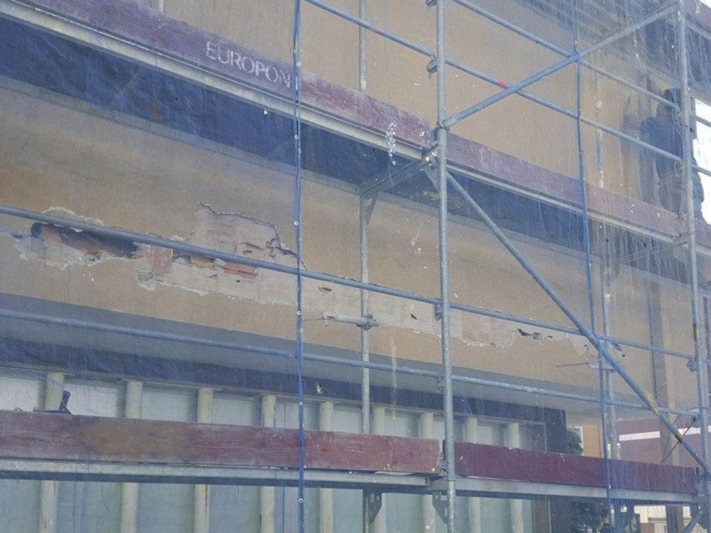 rifacimento parete esterna bolzano20160504 111814Medium 1024x768 - Rifacimento facciata esterna Cantiere Maso Della Pieve Condominio Ambra