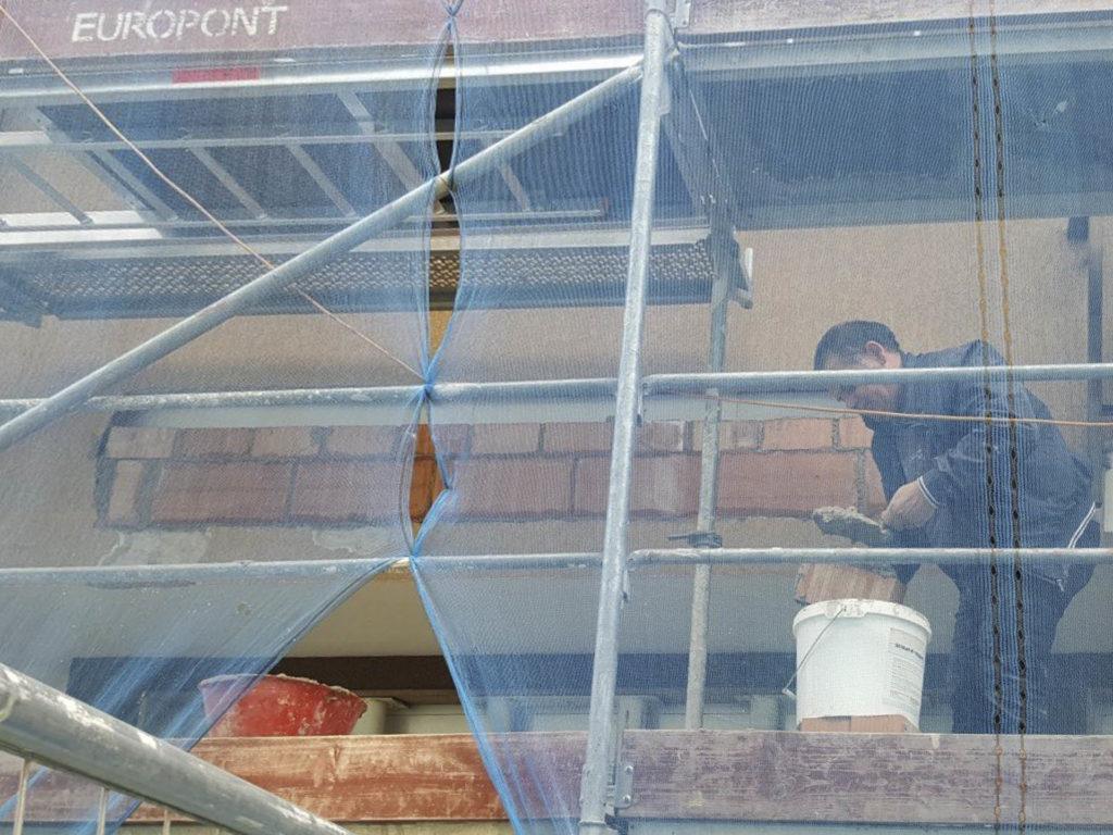 rifacimento parete esterna bolzano20160510 104441Medium 1024x768 - Rifacimento facciata esterna Cantiere Maso Della Pieve Condominio Ambra