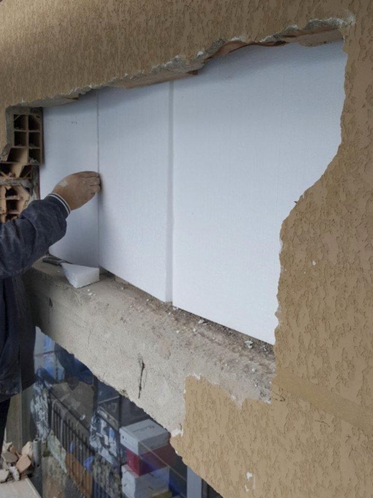 rifacimento parete esterna bolzano20160510 112150Medium 768x1024 - Rifacimento facciata esterna Cantiere Maso Della Pieve Condominio Ambra