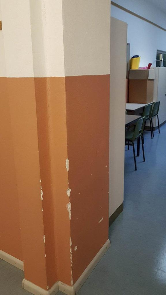 ristrutturazioni scuola pestalozzi20160824 081200Medium 576x1024 - Tinteggiatura pareti Scuola Elementare Pestalozzi