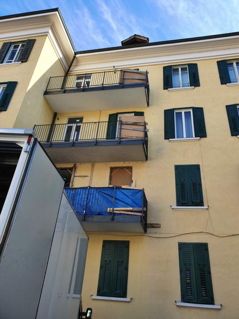 20201028 111020 768x1024 - Baustelle Triestestr. Bozen Balkone